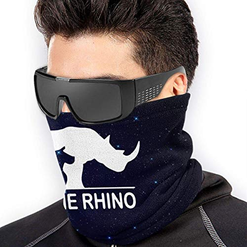 Trista Bauer Speichern Sie die Nashorn Männer Frauen Gesichtsmasken Bandana Neck Warmer Windproof Mask