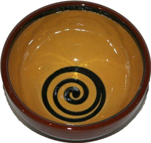 Amazing Cookware Bol Spirale à Dessert 13 cm, Jaune/Vert