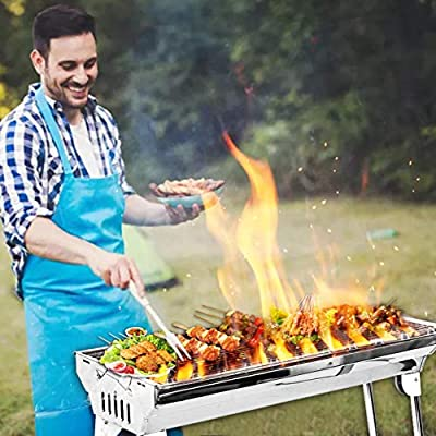 Winwintom Charcoal Grill Kabab grills Portable ...
