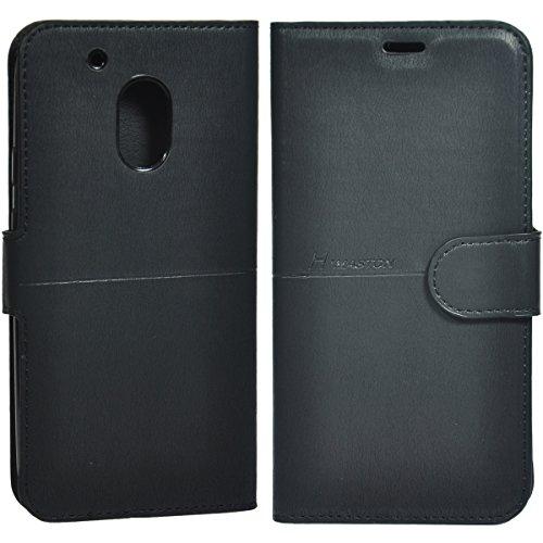 Capa Carteira Flip Porta Cartão e Cédulas Motorola Moto G4 Play Xt1603 Tela 5.0