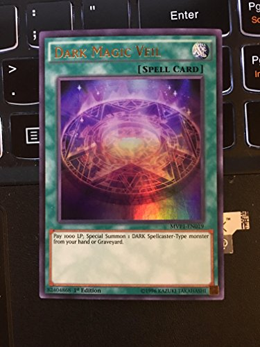 Yu-Gi-Oh! - Dark Magic Veil (MVP1-EN019) - The Dark Side of Dimensions Movie Pack - 1st Edition - Ultra Rare by Yu-Gi-Oh!
