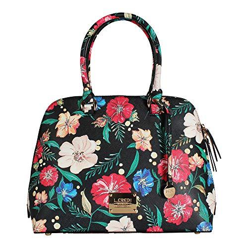 L. CREDI Damen Handtasche Calypso schwarz