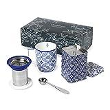 Set Tea Time Azulejo