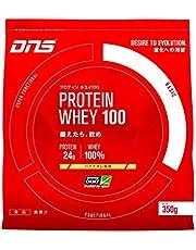 DNS ホエイプロテイン ホエイ100 バナナオレ風味 350g (約10回分) 水で飲める プロテイン WPC ホエイたんぱく質 筋トレ お試し トライアル 1 袋