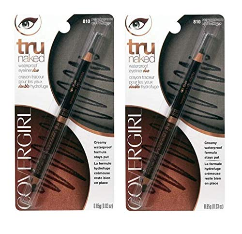 CoverGirl Tru Naked Penny Espresso 810 Waterproof Duo Eyeliner -- 2 per case.