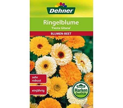 "Dehner Blumen-Saatgut, Ringelblume \""Fiesta Gitana\"", 5er pack (5 x 3 g)"