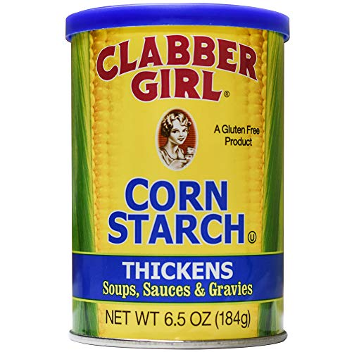 Clabber Girl Corn Starch, 6.5 Ounce, Package my vary