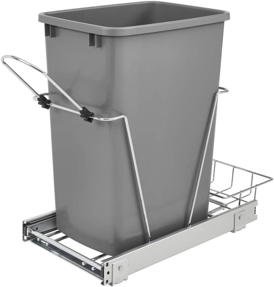 Rev-A-Shelf RV-12KD-17C S Year-end annual account 35-Quart Max 58% OFF Wire Mou Bottom Chrome-Plated
