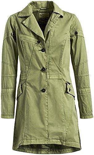 cbe387a82fac74 khujo Mantel Very aus Reiner Baumwolle Kurzmantel mit vielen Sommermantel  Damen Details iydtya4179-Kleidung