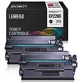 LEMERO Compatibile HP 26X CF226X CF226A 26A Cartucce di Toner per HP Laserjet Pro M402n M402dn M402dw MFP M426fdw MFP M426fdn,2Nero