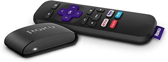 Roku Express | HD Streaming Media Player with Simple Remote and Premium HDMI Cable