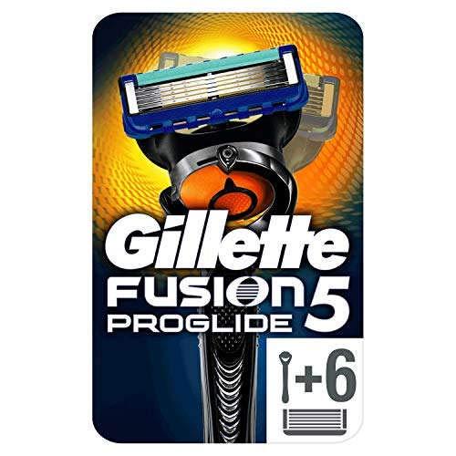 Gillette Fusion5 Proglide rasoir + 5 lames pour Homme