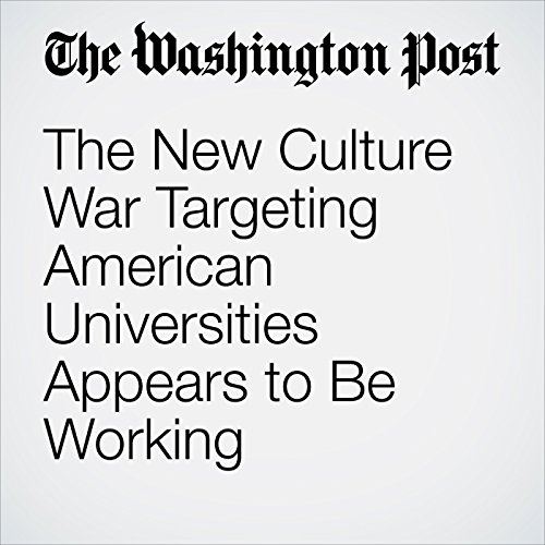 The New Culture War Targeting American Universities Appears to Be Working copertina