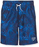 Speedo Allover WS 17' Jm Bañador, Junior Boys, Azul, XS