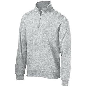 Men's Athletic 1/4-Zip Sweatshirt Sweater Pullover in Sizes XS-4XL