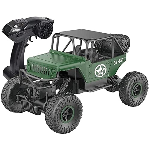 N&G Daily Equipment 2.4G Off-Road Climbing RC Vehicle Toy 1/18 Large Body Remote Control Car Toy High-Speed 4WD Buggy with Charging Drift Truck Toy Suitable For All Terrain Gifts For Boys and Girls