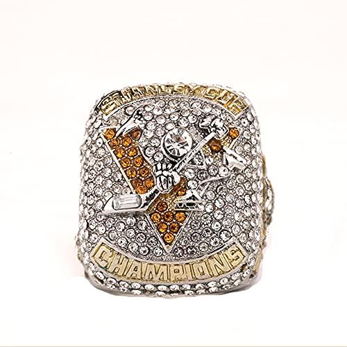 TYTY 2017 Pittsburgh Penguins Ice Hockey Games Championship Ring Herren Ringe Das Fans Geschenke Meisterschaft Ringe,with Box,11