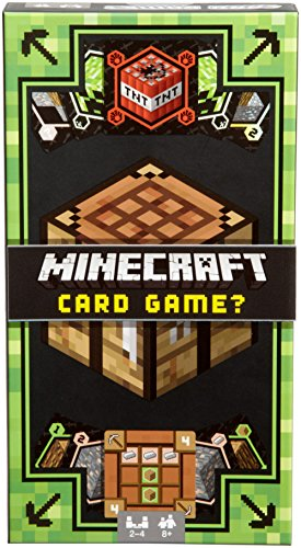Mattel Games DNG61 Minecraft Kartenspiel, geeignet für 2 - 4 Spieler, Spieldauer ca. 15 - 20 Minuten, ab 8 Jahren