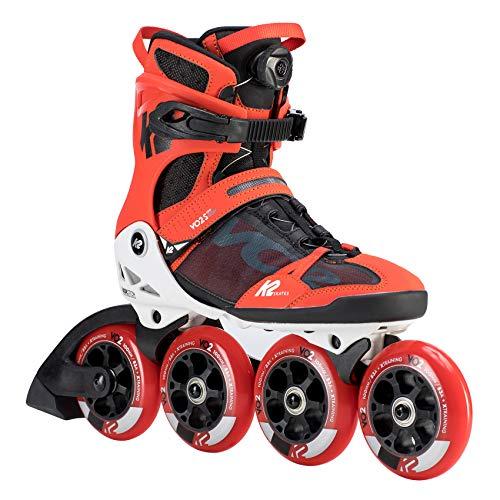 K2 Skates Herren VO2 S 100 BOA M Inline Skates, red-black, 44 EU (9.5 UK)
