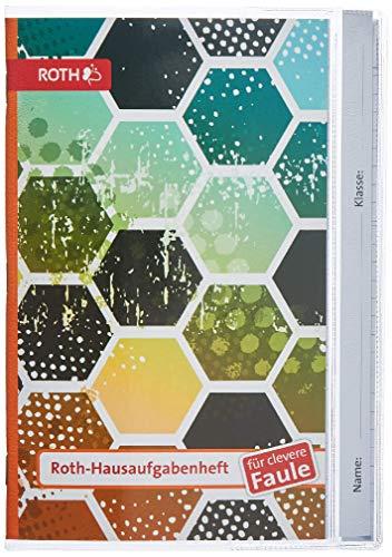 Brunnen 1046950 Hausaufgabenheft für clevere Faule (A5, 56 Blatt, Kunststoffeinband, 4 Motive für Boys)