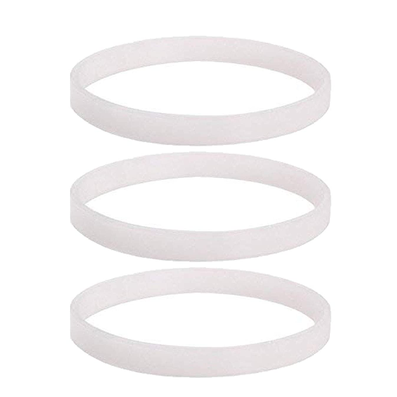 Gasket replacement for Nutri Ninja,3 PCS Rubber Gasket Replacement Parts for Ninja Juicer 6 Fin and 7 Fin Blender