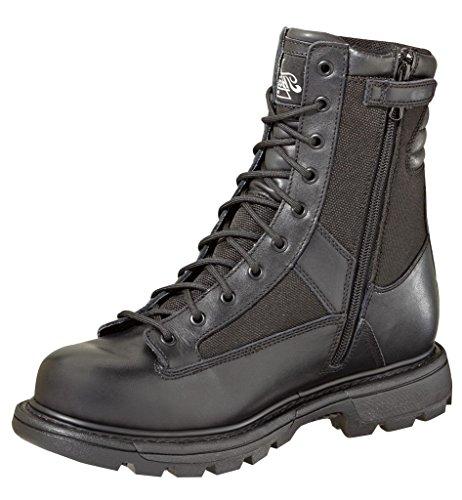 """Thorogood Men's 834-7991 Gen-Flex2 Series 8"""" Waterproof Tactical Side Zip Boot, Black - 11 M US"""