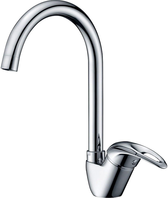 AQMMi Wasserhahn Mischbatterie Für Badzimmer Messing Drehbar, Warmes Und Kaltes Wasser Mischbatterie Waschtisch Armatur Für Bad