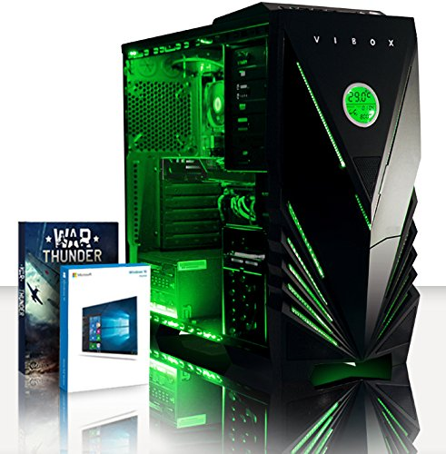 VIBOX Essentials 51 Gaming PC Ordenador de sobremesa con War Thunder Cupón de...