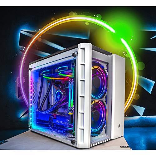 Trinity Gaming-pc, Intel® CoreTM i7 – NVIDIA GeForce GTX – Z370 moederbord – RGB verlichting – individueel configureerbaar Intel Core i7 9700K + NVIDIA RTX 2070 SUPER HyperCube
