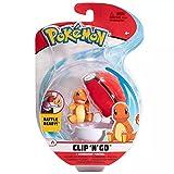 Pokémon Clip 'N' Go Charmander y Poké Ball | Contiene 1 Figura de 5 cm y 1 Poké Ball | Nueva Ola 2021 | Licencia Oficial