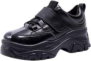 BeiaMina Women Casual Heel Sports Shoes Walk Shoes