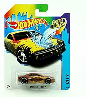 Color Shifters Muscle Tone 2015 Hot Wheels City Series 1:64 Scale Vehicle