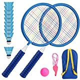 Aceshop Raquetas Badminton Niños Raquetero Tenis Racket Raqueta de Juguete Deportivo Bádminton...