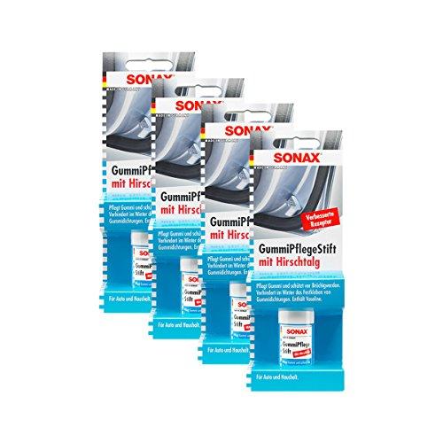 Preisvergleich Produktbild SONAX 4X 04990000 GummiPflegeStift