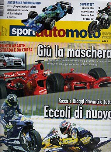 Sport Auto Moto 9 del 2007 Punto Abath da strada e da corsa-Yamaha Fz6-Fazer S2