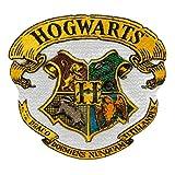 Mono Quick - Aplicaciones de Hogwarts Harry Potter para plancha, Gryffindor Slytherin Hufflepuff Ravenclaw (18069 - Hogwarts)