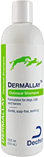Dechra DermAllay Oatmeal Shampoo for Cats and Dogs 12 oz