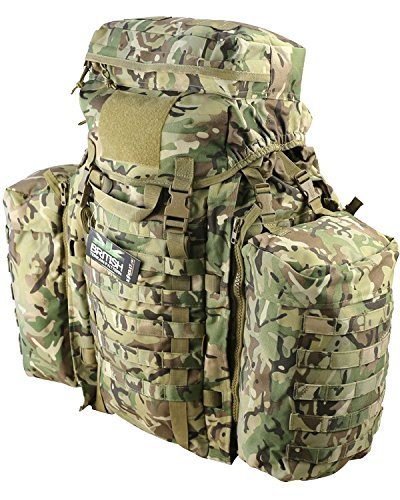 90 ltr Tactical Assault Pack Ruck Sack Bergen BTP Alternative to MTP Multicam