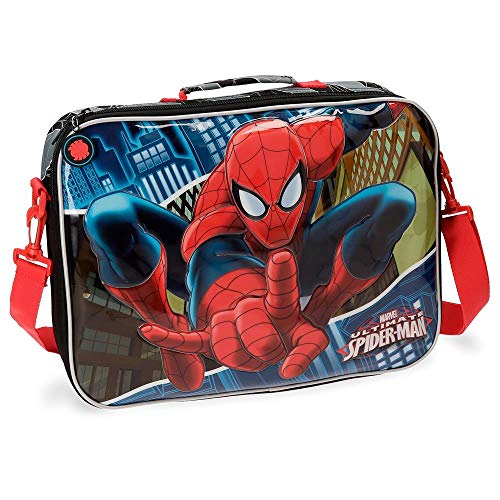Marvel - Spiderman Mochila Escolar, 7.45 Litros, Color Azul