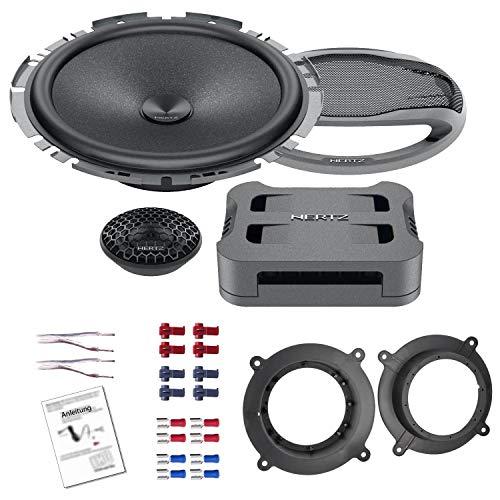 Hertz CK 165F Lautsprecher mit Einbauset passend für Toyota ProAce 2013-2016 Türen vorne 540 W 165mm 2 Wege Kompo