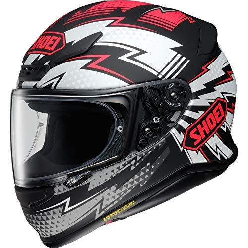 Helm Shoei NXR Variable TC-1 schwarz rot matt, L