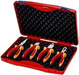 KNIPEX Werkzeug-Box 'RED' Elektro Set 1 00 20 15