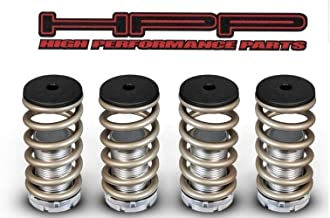 High Performance Parts Gold Lowering Coilover Spring Kit For Mazda 90-94 323 / Protégé / 90-97 Miata / 92-95 MX3