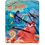 Finding Dory, No Talking Silk Touch Throw Blanket, 40' x 50'