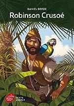 Robinson Crusoé - Texte abrégé de Daniel Defoe