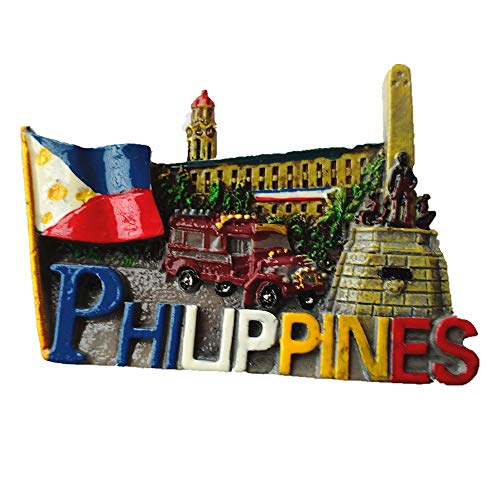 3D Philippines Fridge Magnet, Home & Kitchen Decoration ,Magnetic Sticker Philippines Refrigerator Magnet