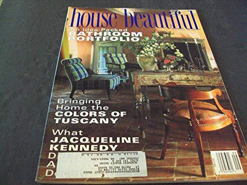 House Beautiful Sep 1994 Jacqueline Kennedy, Bathroom Portfolio
