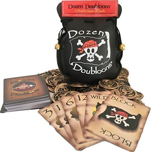 Dozen Doubloons: A Pirate's Card Game for One, Two, Three, and Four Players