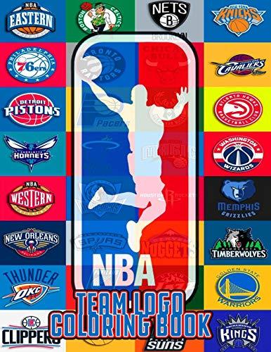 NBA Team Logos Coloring Book: NBA Clubs logos coloring book for kids and adults , Basketball coloring book , NBA cup ,Basketball coloring book ,Sports Coloring Book ...