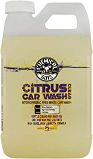 Chemical Guys CWS30364 Car (Citrus Wash Clear Hydrophobic Free Rinse), 64 oz.